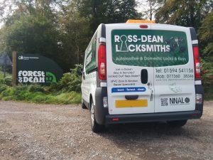 Ross-Dean Locksmiths van