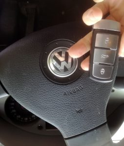 VW passat key
