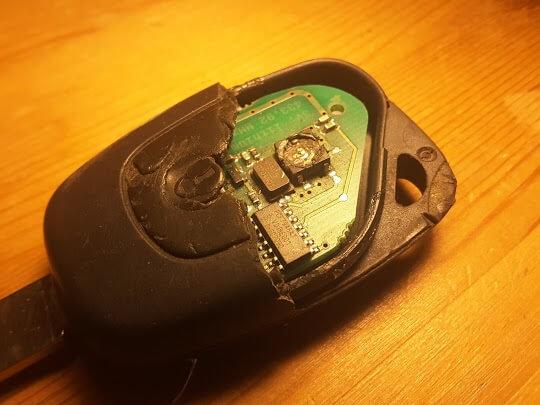 Renault remote repair