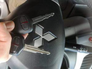 Mistubishi L200 remote key