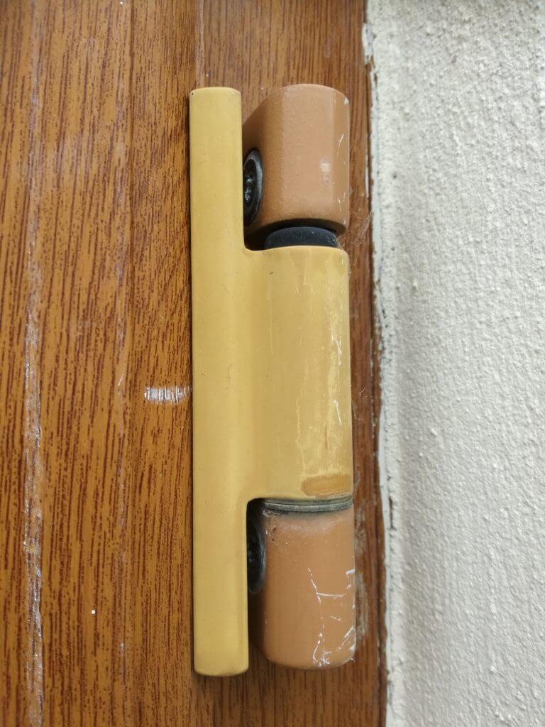 UPVC door butt hinge