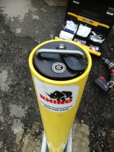 Rhino security bollard